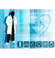 Doctor Cartoon vector image vector image