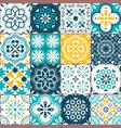 Lisbon azujelo seamless tiles design