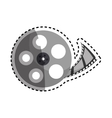 Movie roll equipment vector image vector image