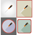 repair tools flat icons 14 vector image vector image