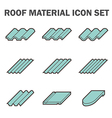 Roof tile vector image vector image