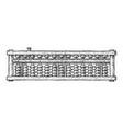 soroban japan abacus vector image