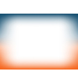 Sunset Sky Blue Orange Copyspace Background vector image vector image