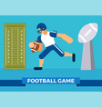 big football game party vector image