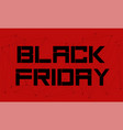 abstract black friday sale vector image vector image
