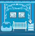 baboy room vector image
