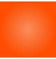 Dots on Orange Background Pop Art Background vector image vector image