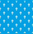 old fashioned helium balloon pattern seamless blue vector image vector image