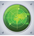radar in green color vector image