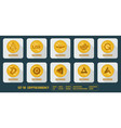 set of icons exchange cryptocurrency vector image vector image