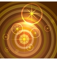 shining stars background vector image vector image