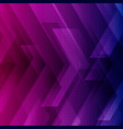 abstract blue purple and pink tech background vector image vector image