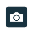 camera icon Rounded squares button vector image