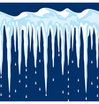 cicles and snow vector image vector image