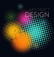colorful background abstract minimalistic vector image vector image