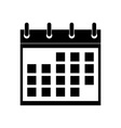 Icon of Calendar vector image vector image