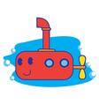 Submarine vector image vector image