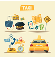 Taxi service Cartoon vector image vector image