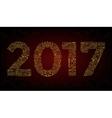 year Mono line elegant design elements symbols vector image