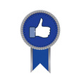 facebook like sign - vector image