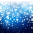 Abstract starry background Christmas vector image vector image