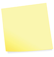 adhesive note vector image vector image