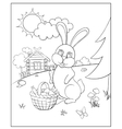 Coloring for kids vector image