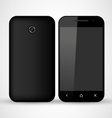 Common Black SmartPhone vector image