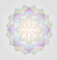 flower life design vector image