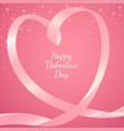 greeting card or theme for valentine day vector image vector image