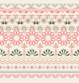 hand drawn oriental pattern art background vector image vector image