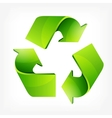 Recycle Sign vector image vector image
