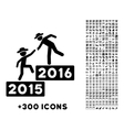 2016 Business Training Icon vector image vector image