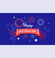 australia day poster design vector image vector image