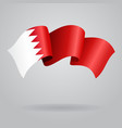 Bahrain waving Flag vector image