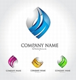 Business Corporate Logo Design vector image vector image
