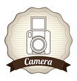 camera design vector image vector image