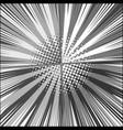comic book gray square concept vector image vector image