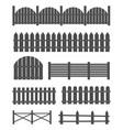 creative of rural wooden vector image vector image