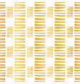 luxe gold stripes confetti hand drawn vector image