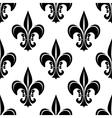 Vintage royal fleur-de-lis seamless pattern vector image vector image