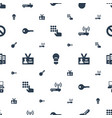 access icons pattern seamless white background vector image vector image