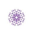 circle ornament abstract logo floral design art
