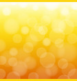 orange and yellow background vector image vector image