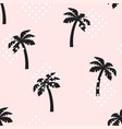 palm tree pattern seamless texture vector image vector image