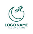 photography logo and icon design vector image vector image