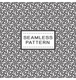 seamless pattern with floral line concept vector image