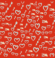 seamless romance pattern abstract background with vector image vector image