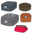 set toolbox vector image vector image