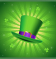 symbol saint patricks day vector image